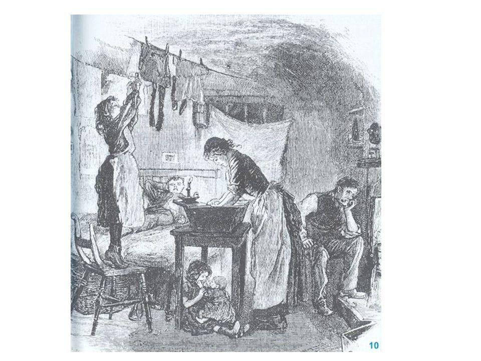 Het begon op het platte land De bevolking van Groot Brittanië verdubbeld  Er wordt meer voedsel geproduceerd  Minder mensen sterven door hongersnood.