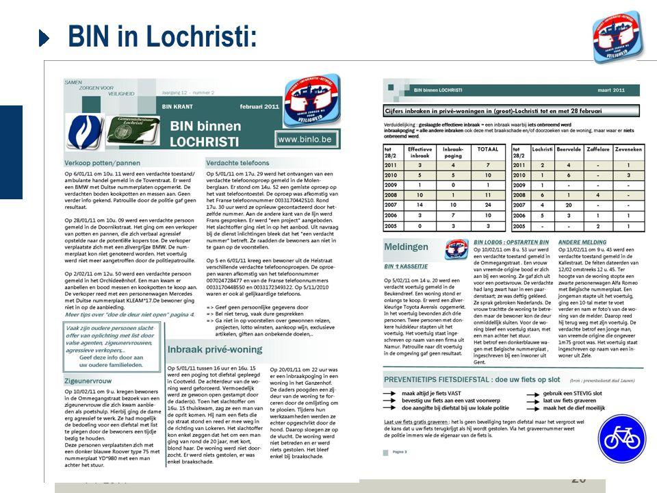 7-7-2014 20 BIN in Lochristi:
