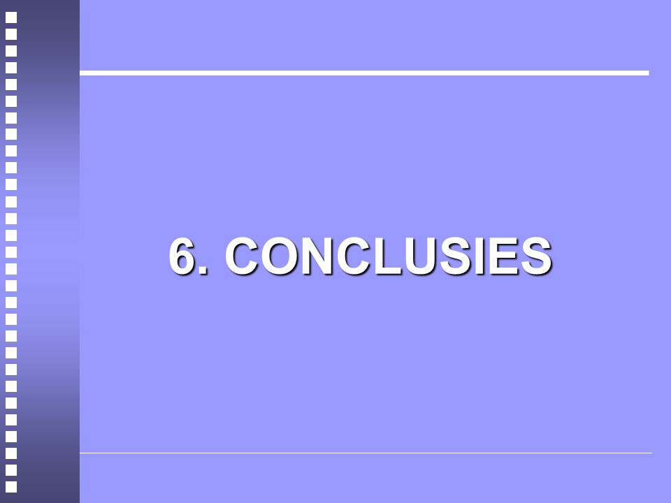 6. CONCLUSIES