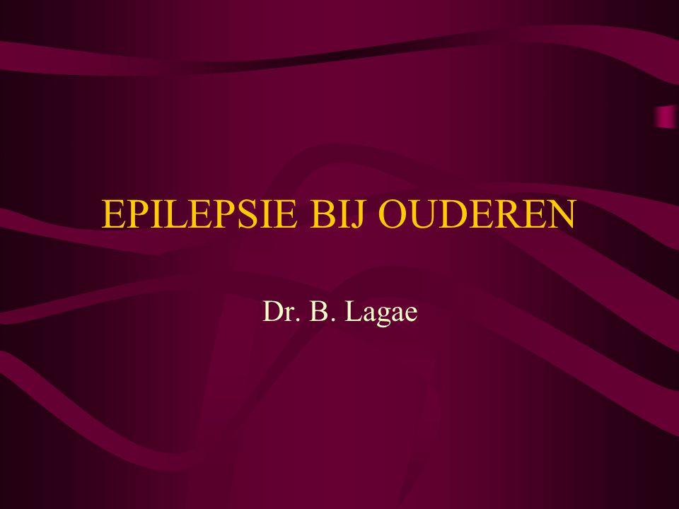 Een eerst niet uitgelokt epileptisch insult Bij duidelijk cerebraal letsel OF Epileptische grafo-elementen op EEG OF Hoog risico op trauma bij valpartijen (osteoporotische fracturen) OF Hoog risico op status epilepticus  Behandelen