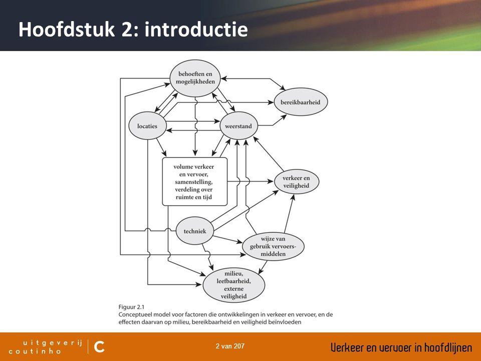 203 van 207 Hoofdstuk 14: modellen Geaggregeerde modellen generatie (productie) en attractie: hoeveel verplaatsingen vertrekken er uit een zone en hoeveel komen er aan.