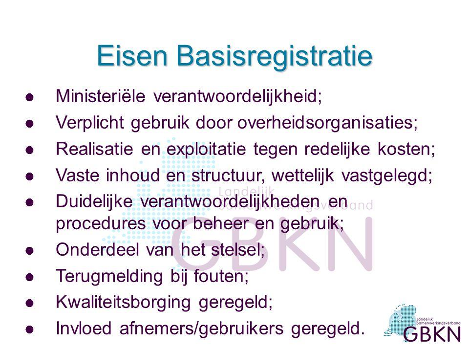 Gevolgen voor gemeenten l Worden bronhouder voor eigen beheergebied; l Krijgen verantwoordelijkheid voor inhoud en kwaliteit (o.a.