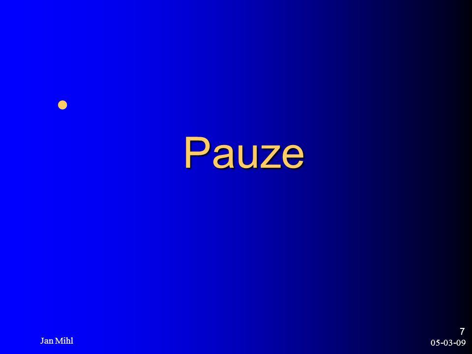 05-03-09 Jan Mihl 7 Pauze