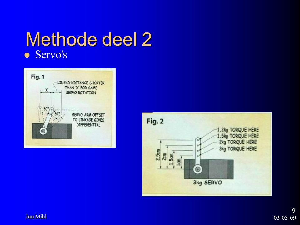05-03-09 Jan Mihl 10 Methode deel2 Center of Gravity