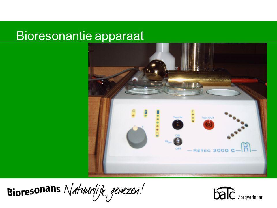 Bioresonantie apparaat