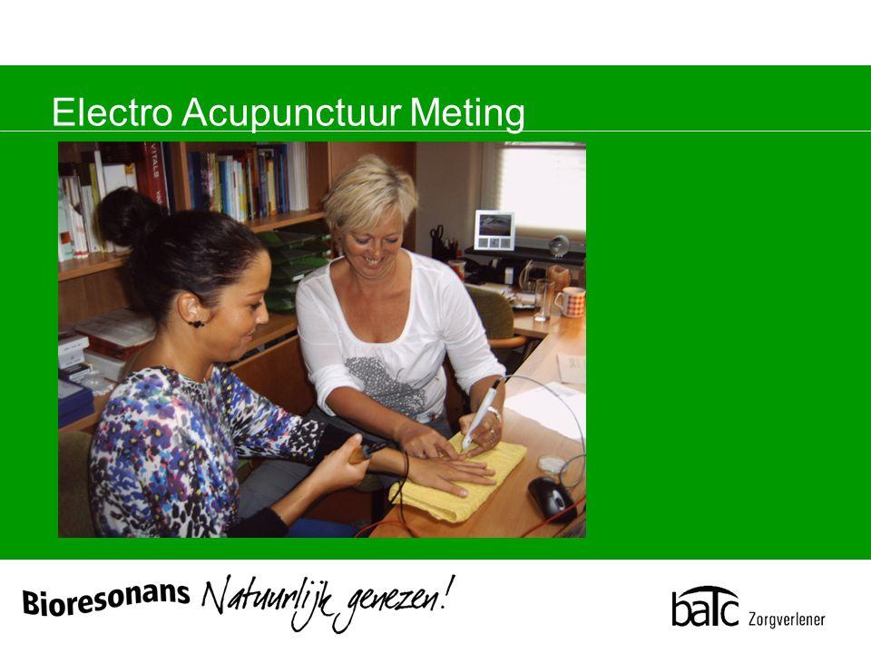 Electro Acupunctuur Meting