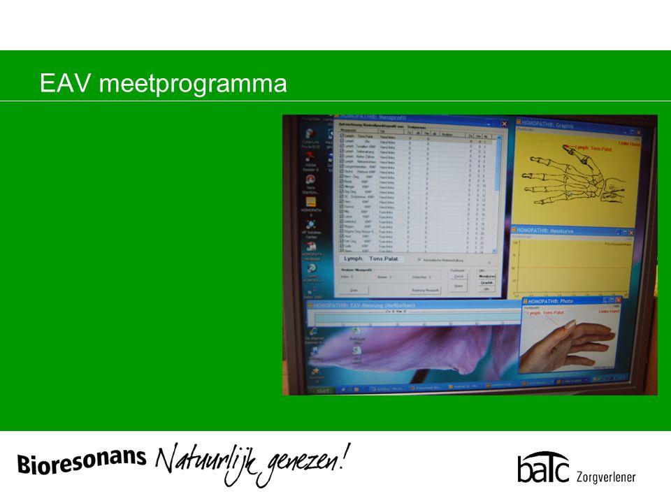 EAV meetprogramma