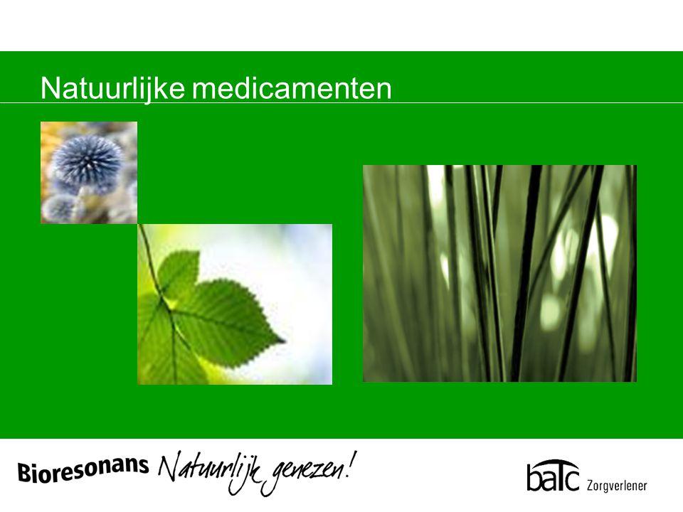 Natuurlijke medicamenten