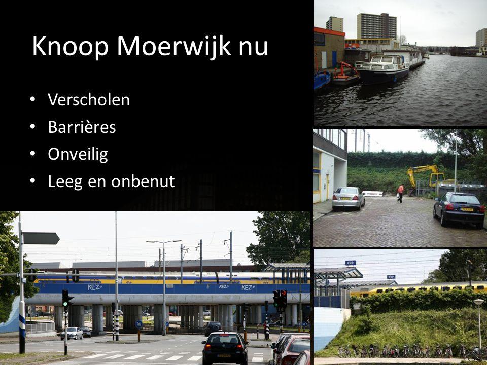 Knoop Moerwijk nu Verscholen Barrières Onveilig Leeg en onbenut