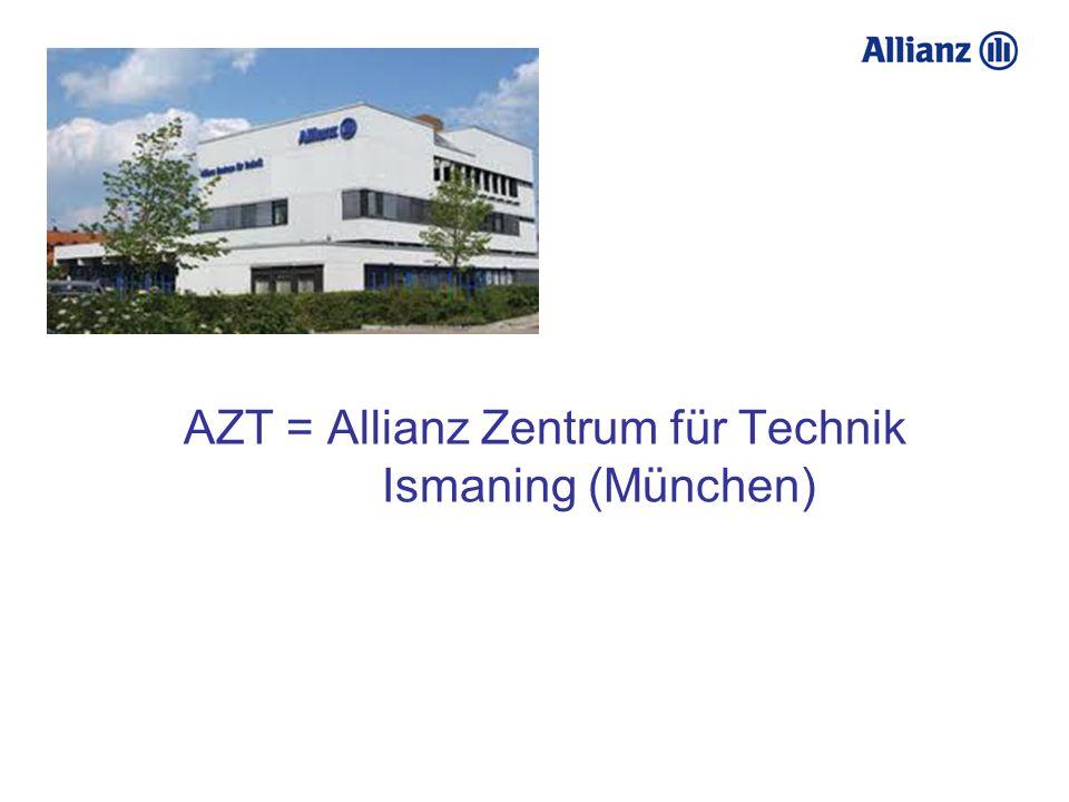 AZT = Allianz Zentrum für Technik Ismaning (München)