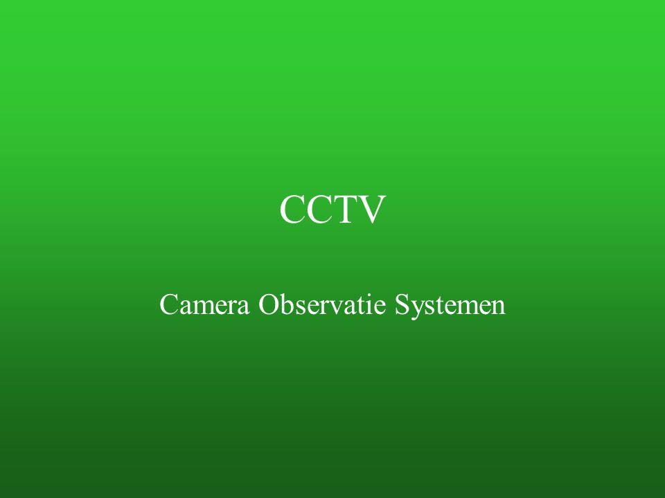 CCTV Camera Observatie Systemen