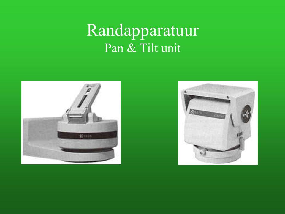 Randapparatuur Pan & Tilt unit