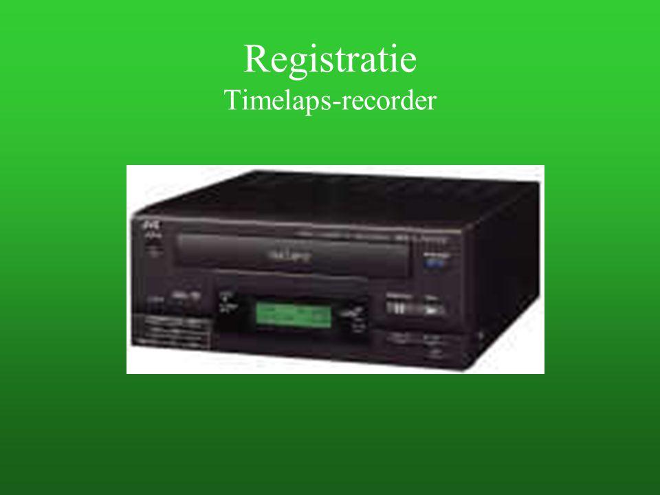 Registratie Timelaps-recorder