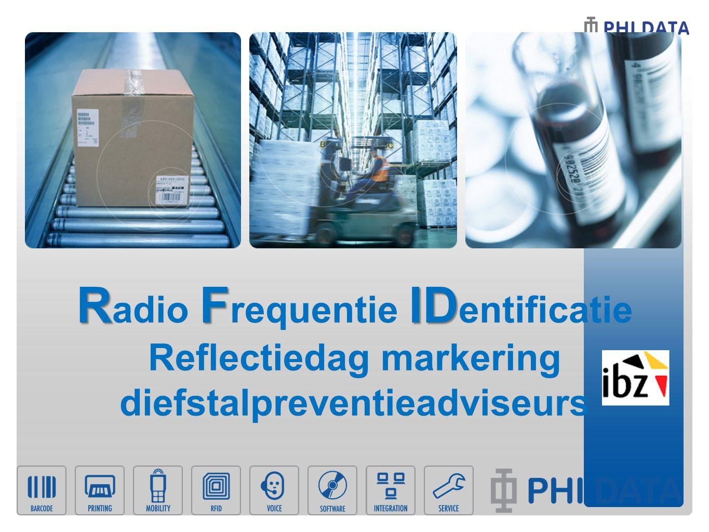 RFID R adio F requentie ID entificatie Reflectiedag markering diefstalpreventieadviseurs