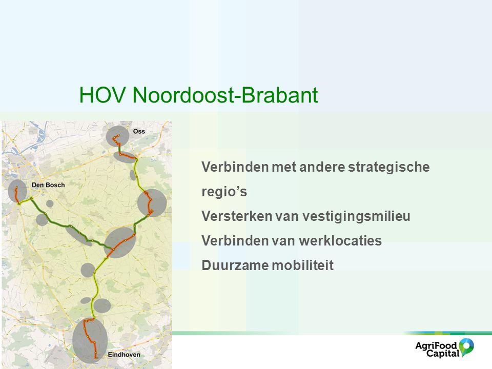 Hoofd OV-net (spoor) Hoogwaardig OV-net (bus) # treinen/uur (incl.