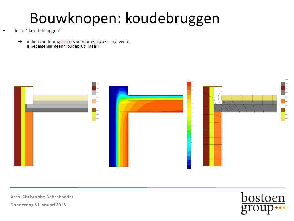 Term ' koudebruggen'  Indien koudebrug GOED is ontworpen/ goed uitgevoerd, is het eigenlijk geen 'koudebrug' meer.