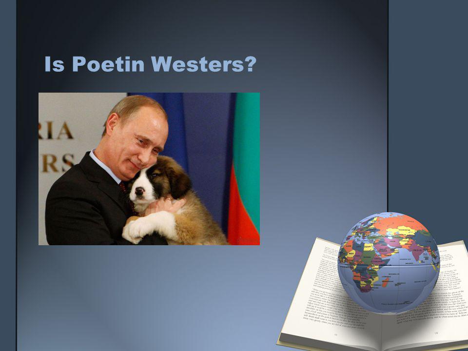 Is Poetin Westers