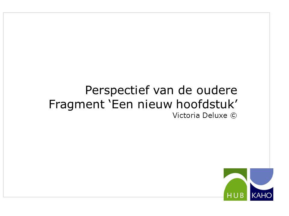 Perspectief van de professionele hulpverlener Onderzoek studenten gezinswetenschappen Van Dessel & Van Echelpoel (2014) Onderzoeksvraag: wat zijn de motieven, volgens professionele hulpverleners (thuisverpleging), om de overstap te maken?