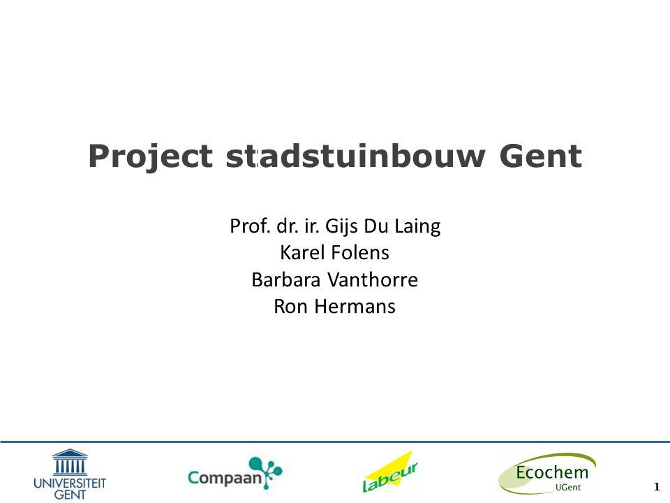 Inleiding Toegenomen interesse in stadslandbouw/stadstuinbouw Mogelijke (historische) vervuilingsbronnen (o.a.