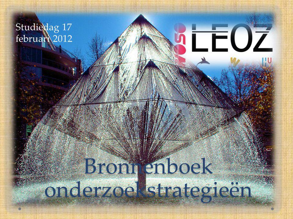 Programma van vandaag 9.30 – 10.00 inloop 10.00 – 10.30 inleiding LEOZ-II, project 3a en doel van de dag 10.30 – 12.00 1e ronde workshops 12.00 – 13.00 lunch 13.00 – 14.30 2e ronde workshops 14.30 – 15.00 integratie en afronding.