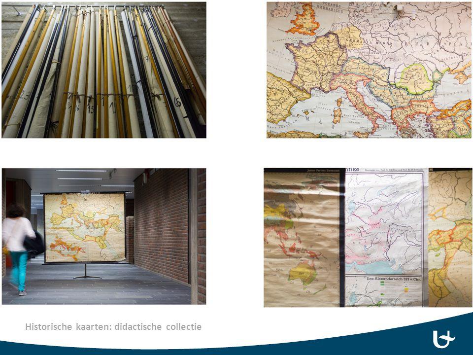 Historische kaarten: didactische collectie