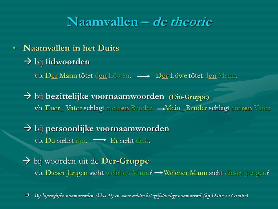 Het naamwoordelijk deel das PrädikativHet naamwoordelijk deel das Prädikativ In een Duitse zin vind je het naamwoordelijk deel op dezelfde manier als in een Nederlandse zin.
