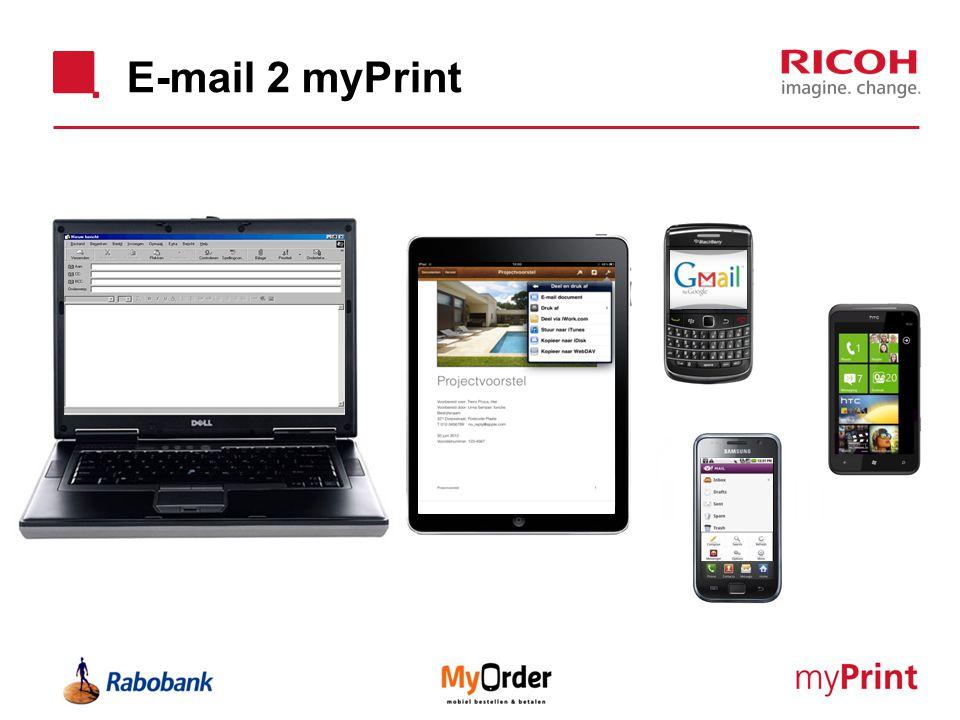 E-mail 2 myPrint