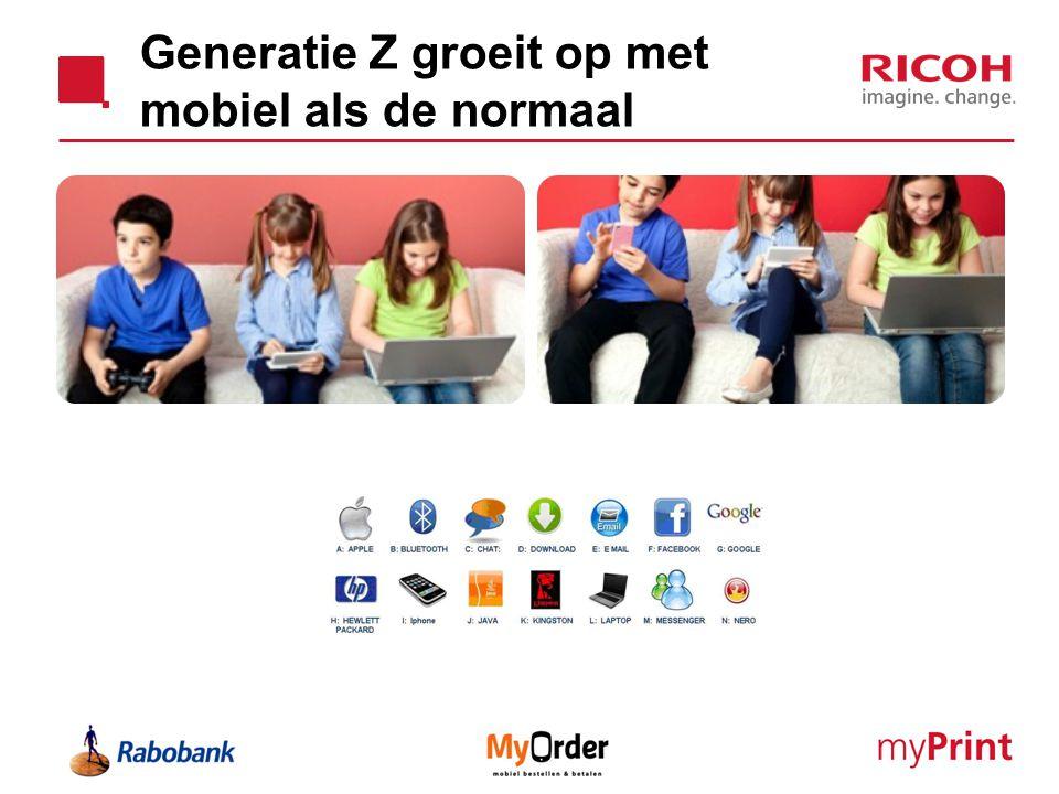 Generatie Z groeit op met mobiel als de normaal