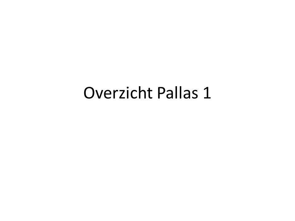 Overzicht Pallas 1