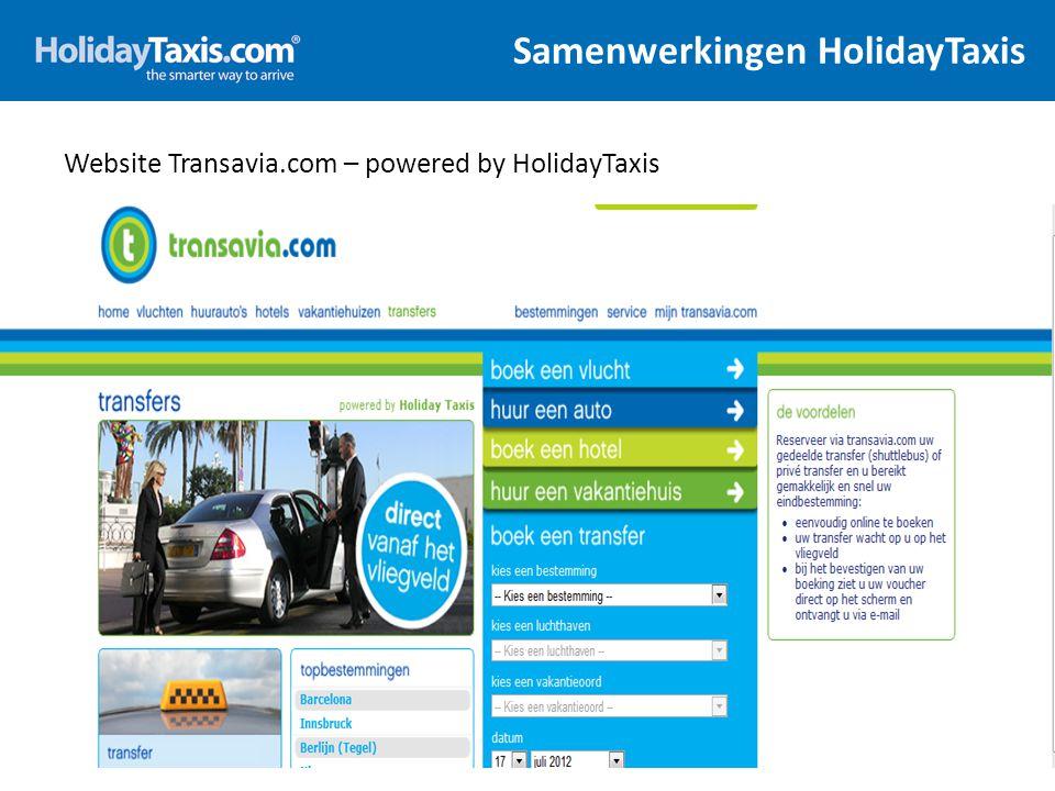Het Voucher 17 Reserveringsnummer en datum Informatie van de lokale aanbieder (supplier) Alle noodzakelijke informatie voor de klanten om terplaatse de retour tranfer te herbevestigen Alle contactinformatie en openingstijden van de lokale taxi levercier, als ook het nood telefoonnummer van HolidayTaxis