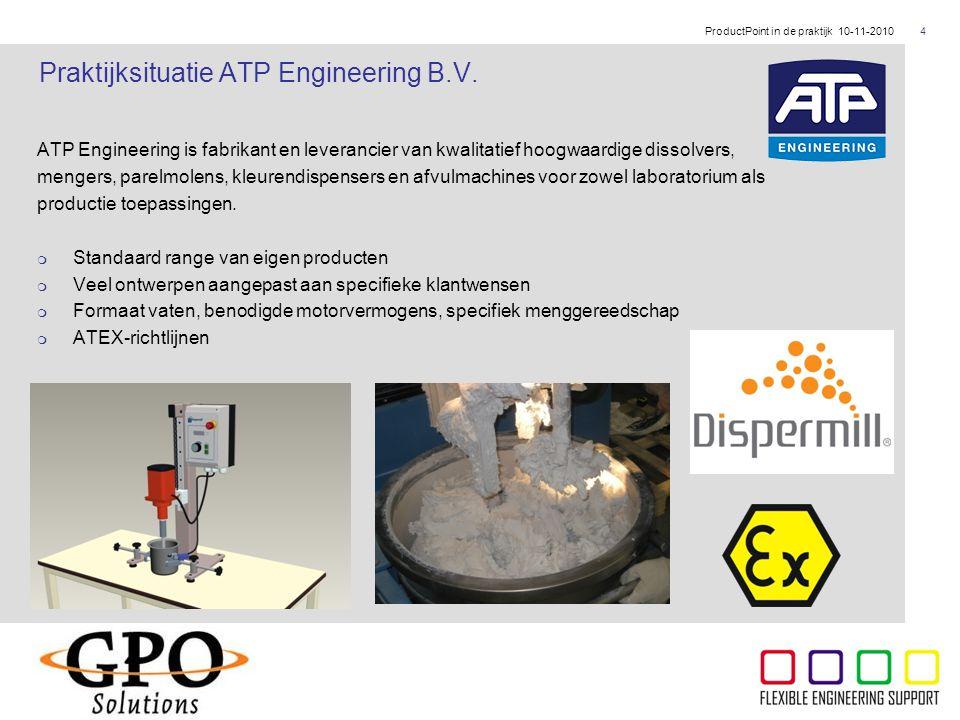 ThyssenKrupp ATP Engineering is fabrikant en leverancier van kwalitatief hoogwaardige dissolvers, mengers, parelmolens, kleurendispensers en afvulmach