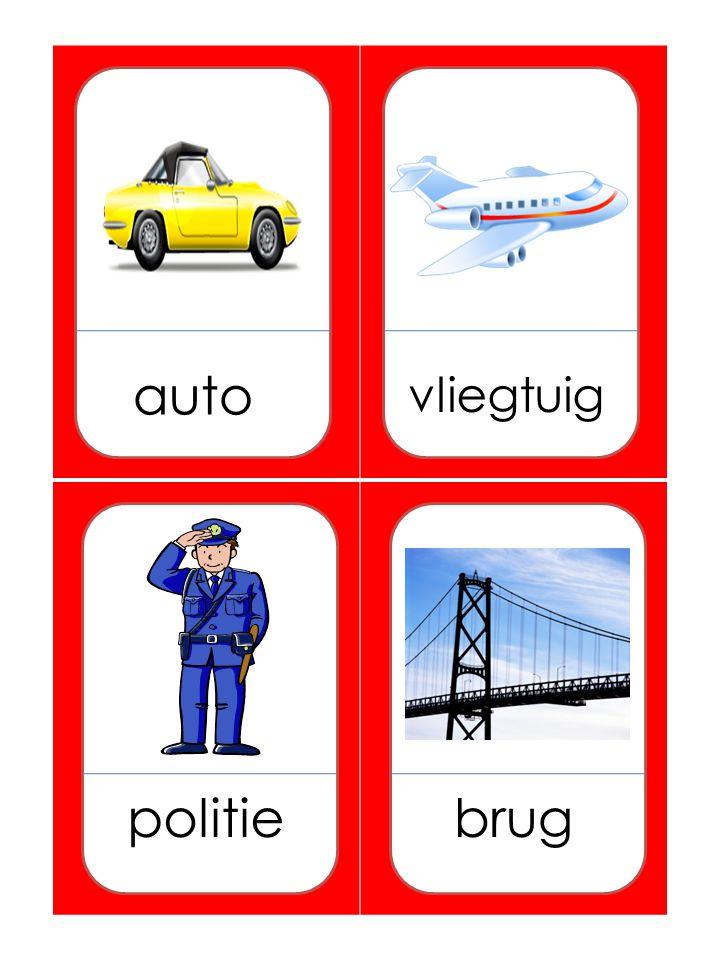 auto vliegtuig politiebrug