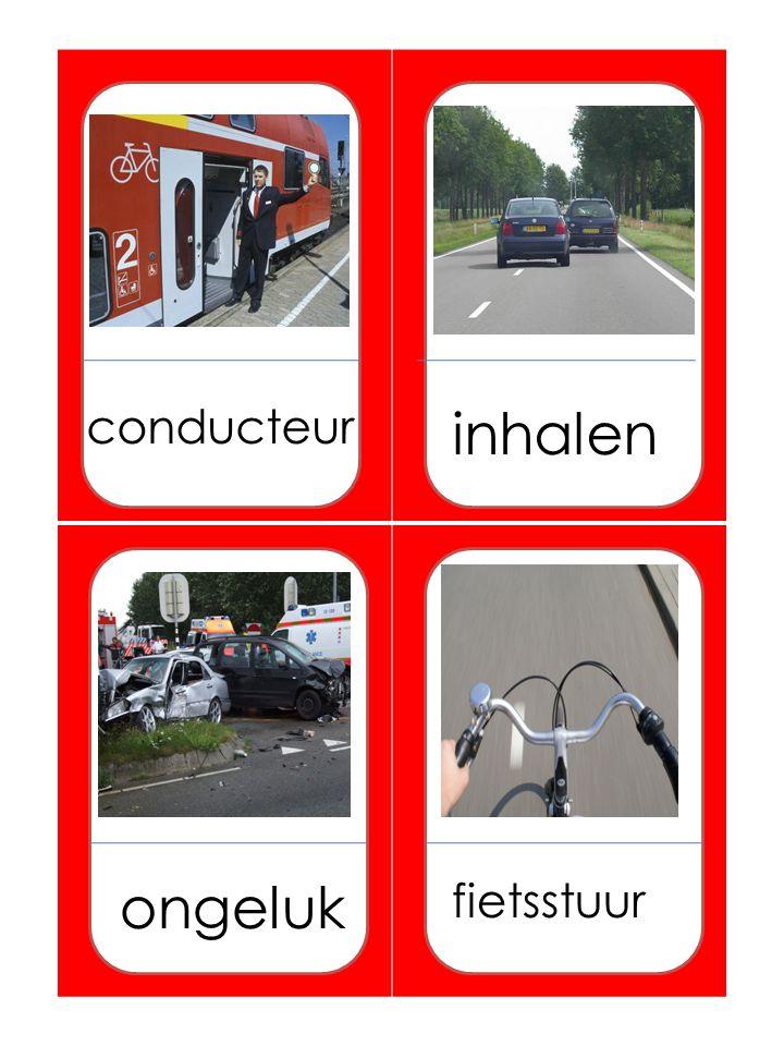 conducteur inhalen ongeluk fietsstuur