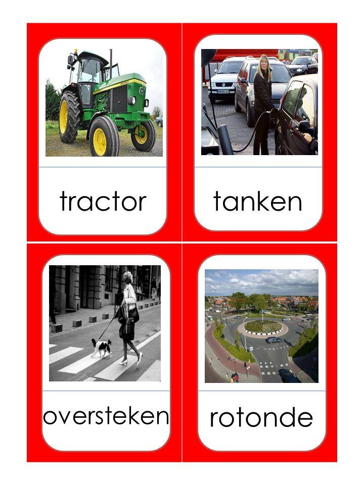 tractortanken oversteken rotonde