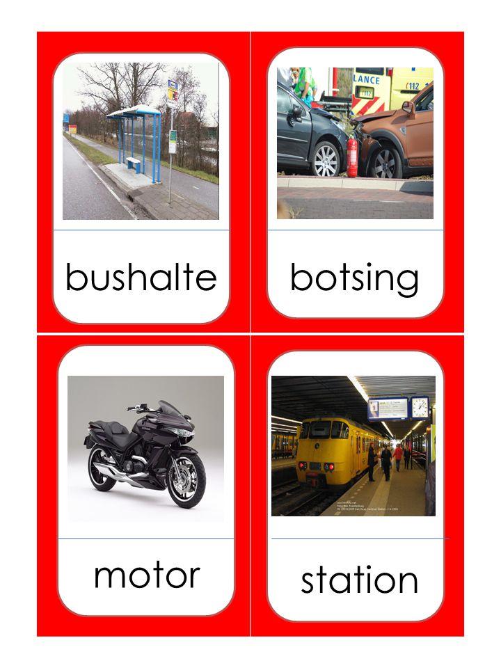 bushaltebotsing motor station
