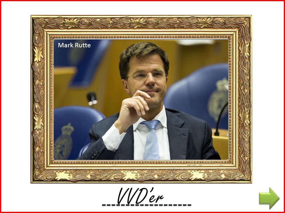 K'er Mark Rutte VVD