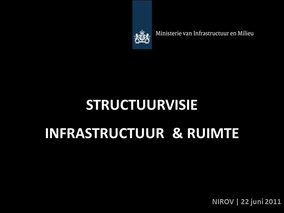 STRUCTUURVISIE INFRASTRUCTUUR & RUIMTE NIROV | 22 juni 2011