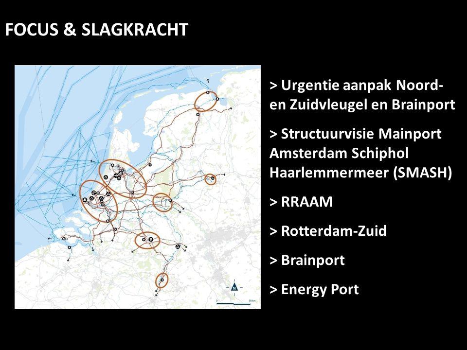 > Urgentie aanpak Noord- en Zuidvleugel en Brainport > Structuurvisie Mainport Amsterdam Schiphol Haarlemmermeer (SMASH) > RRAAM > Rotterdam-Zuid > Br