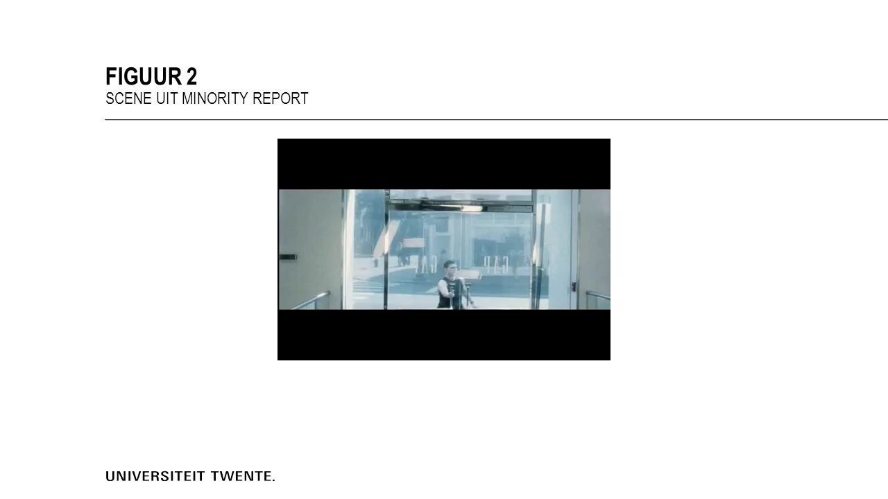 FIGUUR 2 SCENE UIT MINORITY REPORT