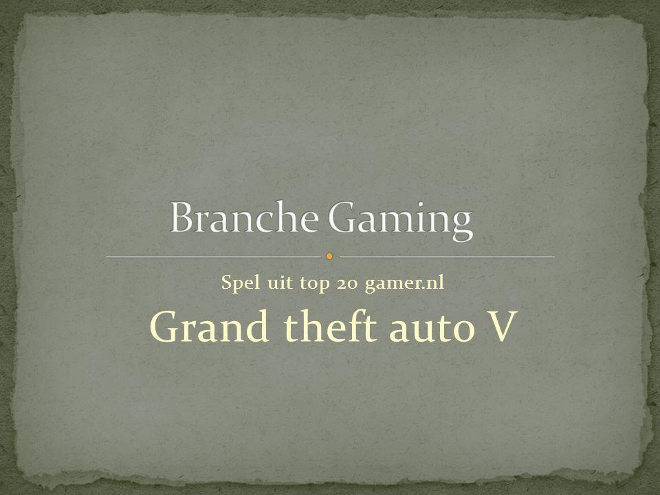 Spel uit top 20 gamer.nl Grand theft auto V