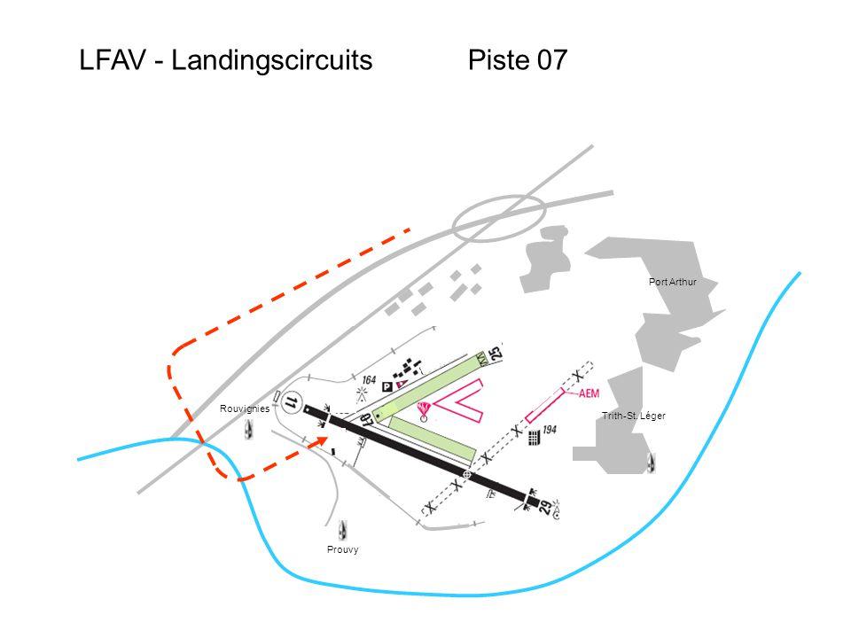 LFAV - Landingscircuits Port Arthur Trith-St. Léger Prouvy Rouvignies Piste 07