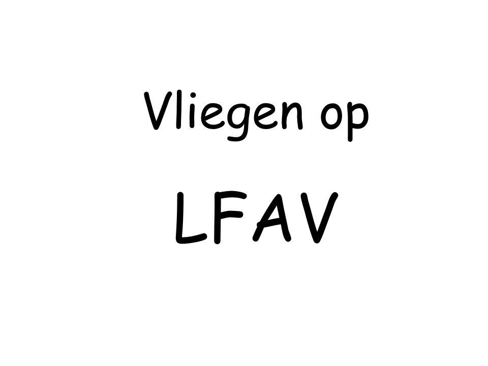LFAV - Praktisch In piste gaan