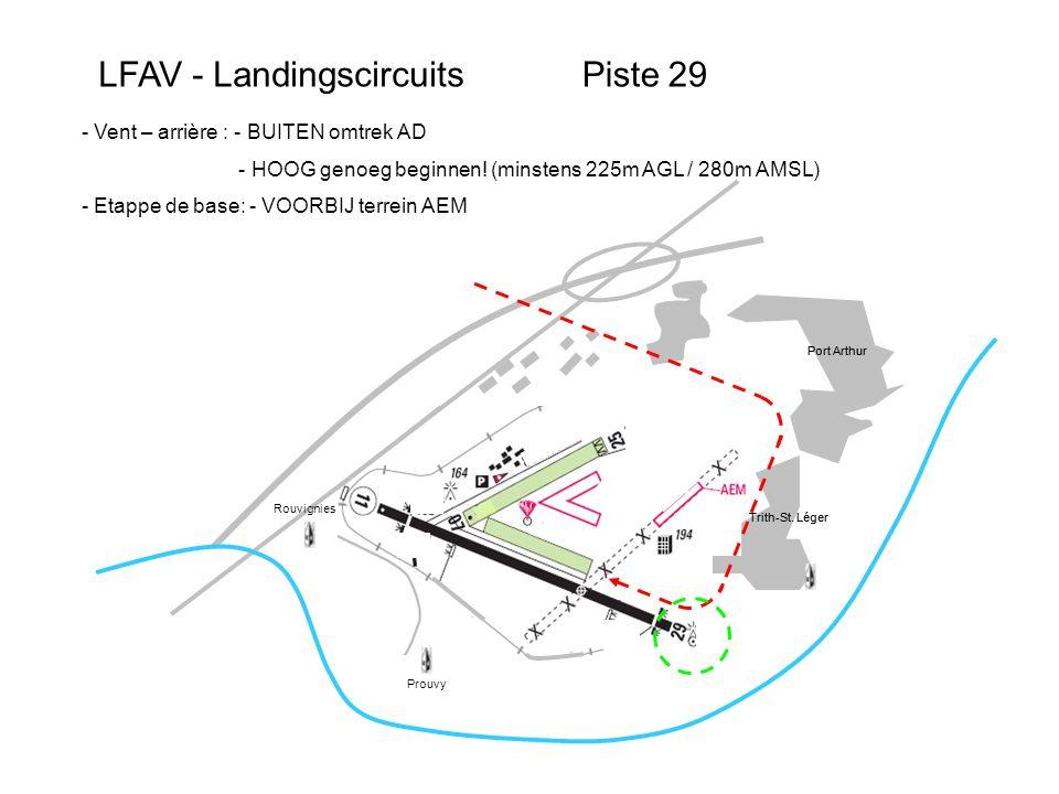 LFAV – Auto-informationVoorbeeld Piste 29 Port Arthur Trith-St.