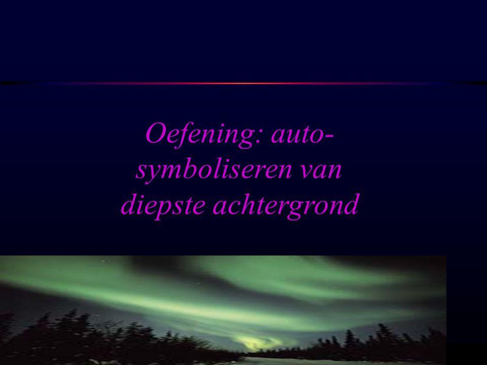 OSIRIS © www.aurelis.org Oefening: auto- symboliseren van diepste achtergrond