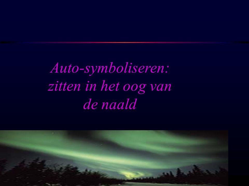 OSIRIS © www.aurelis.org Auto-symboliseren: zitten in het oog van de naald