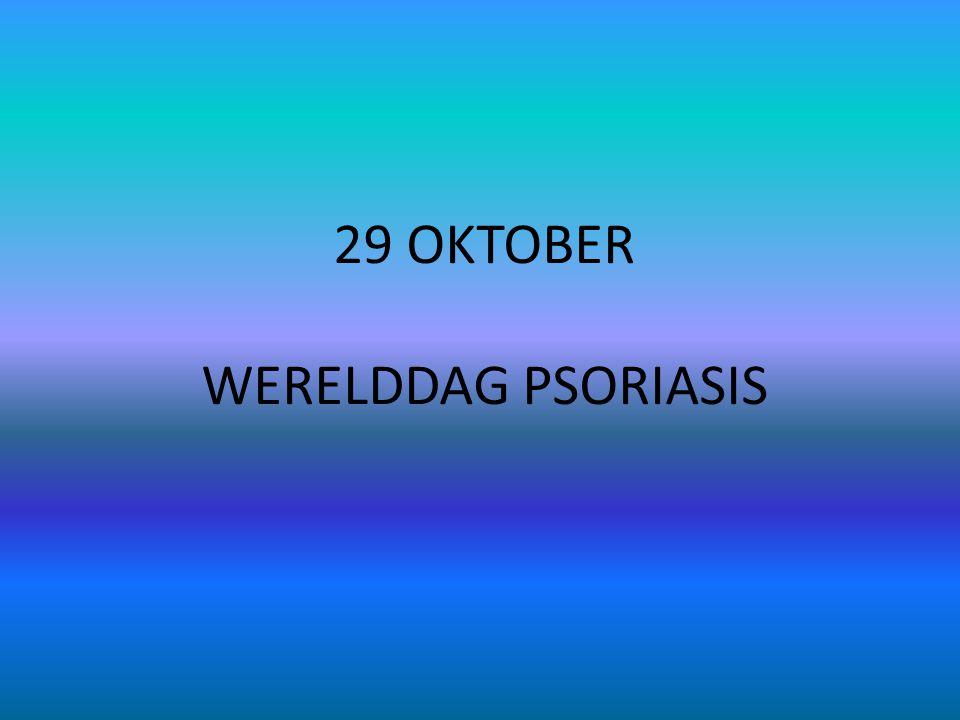 Psoriasis 300 000 Belgen 20% heeft ook gewrichtsontstekingen Heeft grote impact op de levenskwaliteit: schaamte door schilfers: 61% voelt zich dikwijls aangestaard 58% voelt zich vaak beschaamd 57% ervaart dat psoriasis het zelfvertrouwen ondermijnt 56% merkt dat andere mensen denken dat psorasis besmettelijk is 52% vermijdt zwembaden