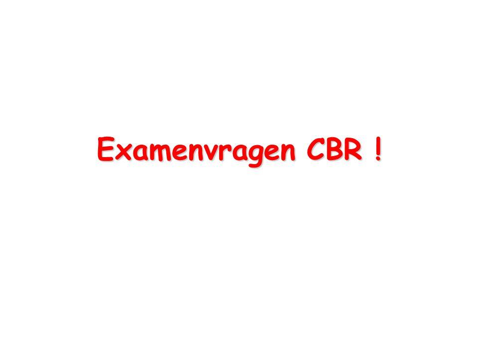 Examenvragen CBR !