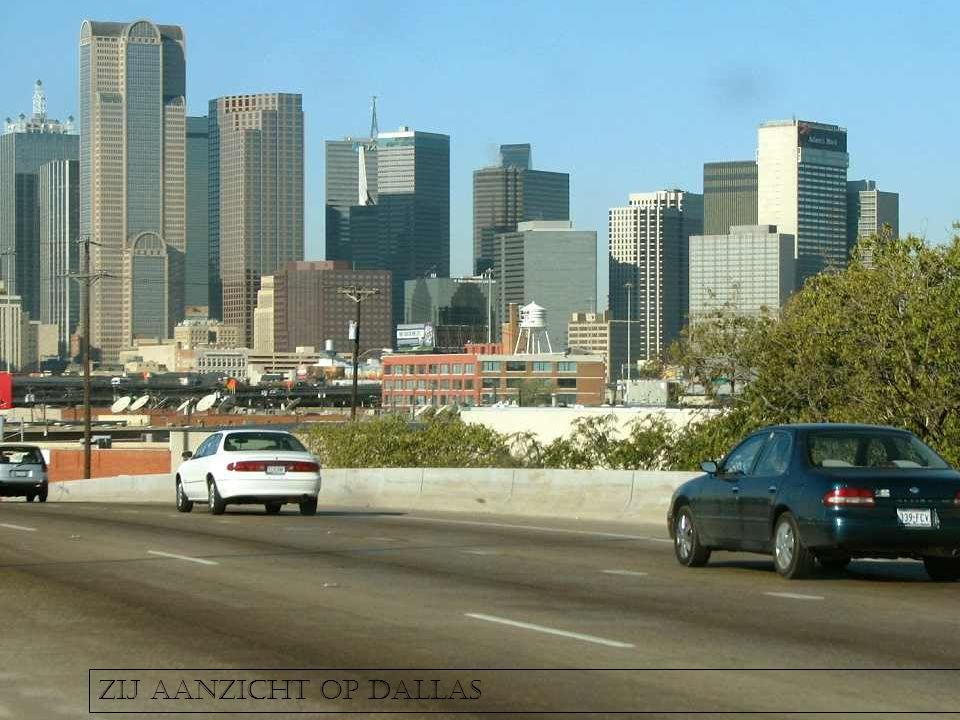 Zij aanzicht op Dallas
