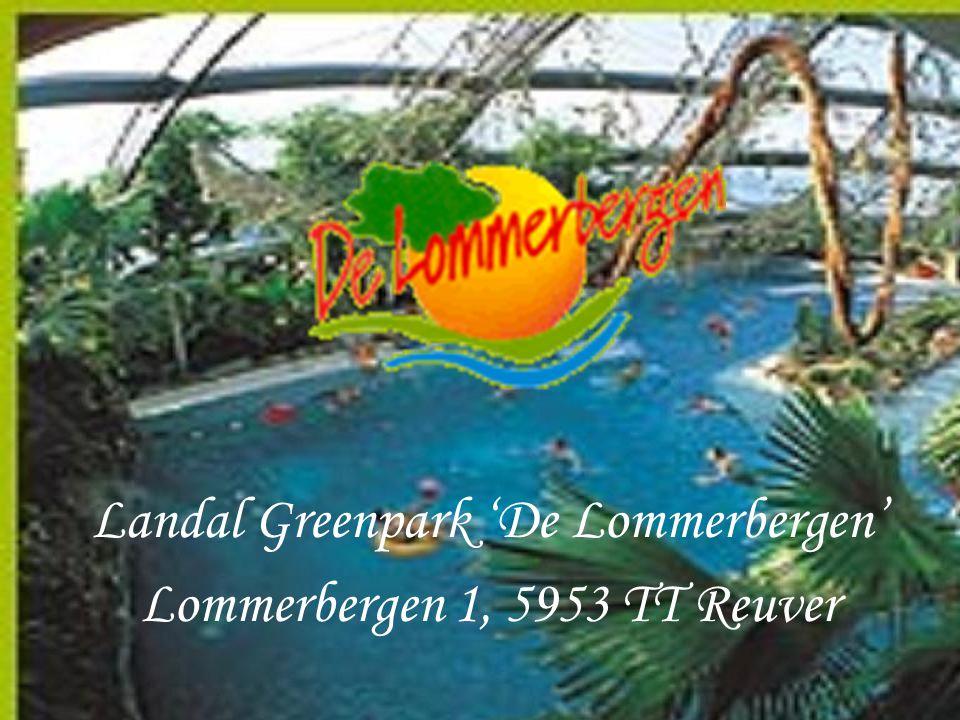Landal Greenpark 'De Lommerbergen' Lommerbergen 1, 5953 TT Reuver