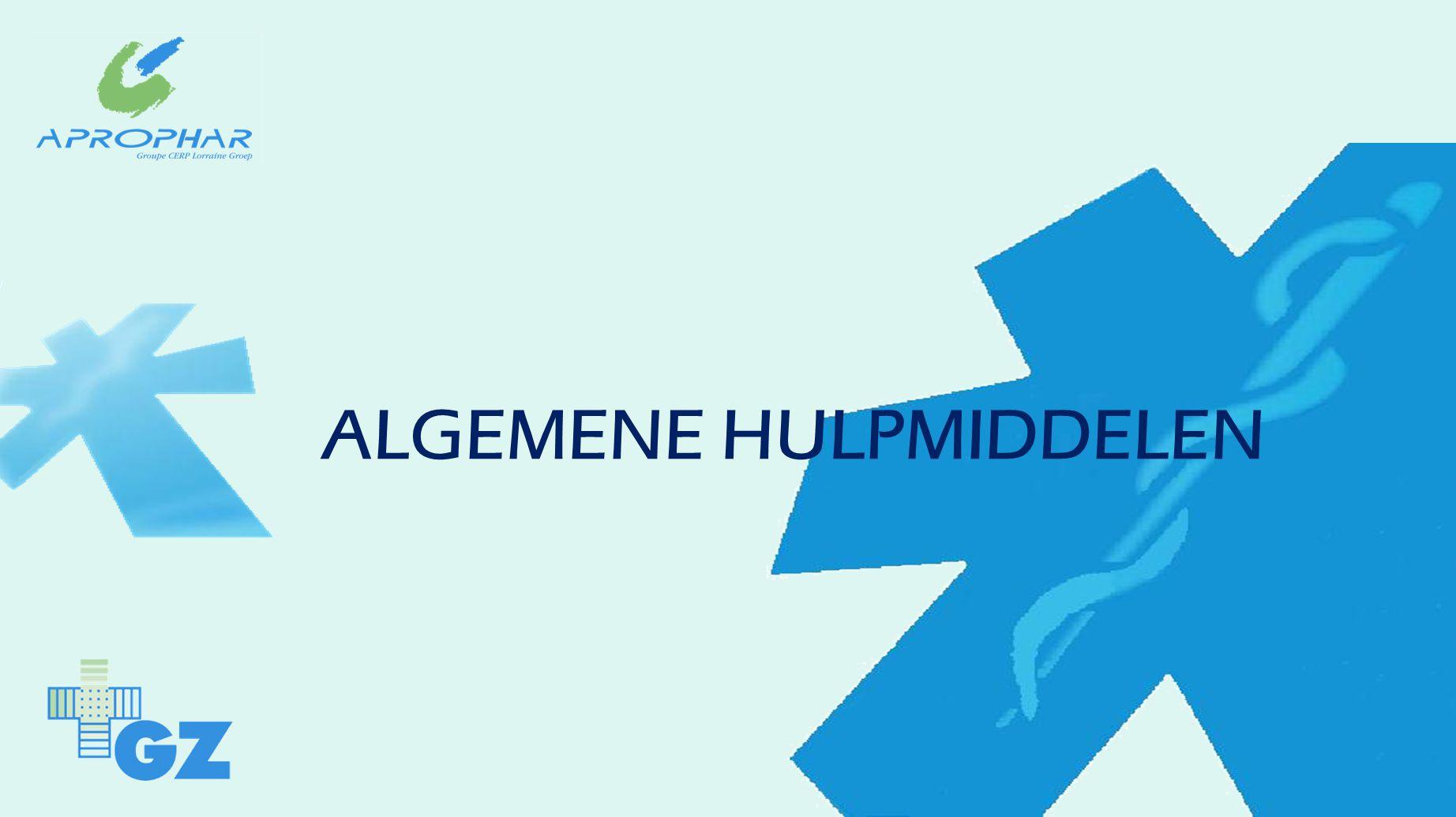 ALGEMENE HULPMIDDELEN